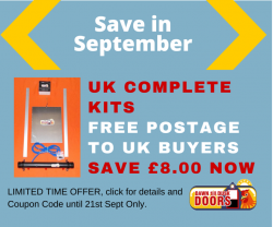 Offer Free UK Postage on Complete Kit ukbhcompkitfreepost to 21 Sept 2015