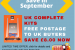 Offer Free UK Postage on Complete Kit ukbhcompkitfreepost to 21 Sept 2015