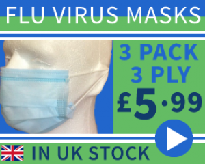 Surgical Medical Quality Flu Virus Masks