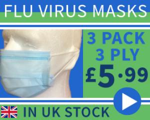 Surgical Medical Quality Flu Virus Masks